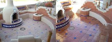 Pool Tile Cleaning Outdoor Patio Tile Restoration
