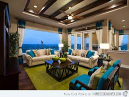 Full Size Of Living Yellow And Brown Turquoise Room Ideas