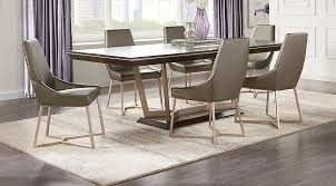 sofia vergara cambrian court brown 5 pc dining room dining room