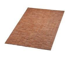 badezimmer holzmatte bad bambus vorleger ridder bamboo matte