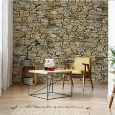 details zu tapete vlies fototapete für wohnzimmer steinoptik steinwand