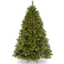 Pencil Xmas Trees Pre Lit by National Tree Christmas Trees Walmart Com