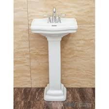 Kohler Cimarron Pedestal Sink by Marble Pedestal Sink Wayfair