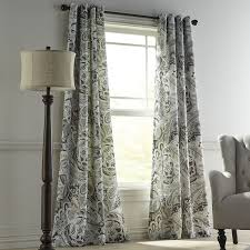 Pier One Curtains Panels by Vibrant Paisley Natural Grommet Curtain Pier 1 Imports