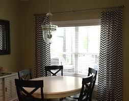 black and white curtain panels chevron curtains drapery window
