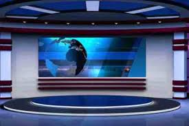 Breaking News Background Stock Video Footage Videoblocks Music Studio Png Tv Set Virtual Green Screen
