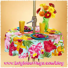 Square Patio Table Tablecloth With Umbrella Hole by Faq Can You Put An Umbrella Hole In My Tablecloth The Bright
