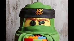 entstehung einer ninjago lego torte fondant cake tutorial