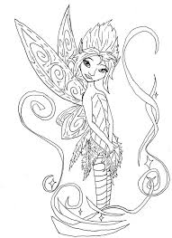 Innovative Coloring Pages Fairy 28
