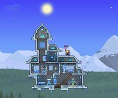 Snowy House by Brysiaa