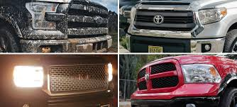 Review: 4 Best Full-Size Pickup Trucks - Gear Patrol 2018 Ford F150 Enhanced Perennial Bestseller Kelley Blue Book Best Fullsize Truck Blog Post List Fields Chrysler Jeep Dodge Ram Chevy Tahoe Vs Expedition L Midway Auto Dealerships Kearney Ne Best Pickup Trucks Toprated For Edmunds Allnew 2019 1500 Review A 21st Century Truckwith The Truck Americas Fullsize Short Work 5 Midsize Hicsumption Quality Rankings Unique Top 6 Full Size For Sale By Owner First Drive F 150 Automobile Bed Tents Trucks Amazoncom Wesley Chapel Nissan The Titan Faest Growing