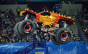 100 Monster Truck Show Miami Close Races Develop As Season Hits Halfway Mark Jam