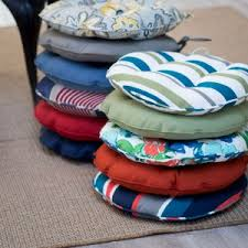 18 Inch Round Chair Cushions by Bistro Chair Cushions Hayneedle