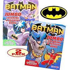 BATMAN Coloring And Activity Book Set 2 Books