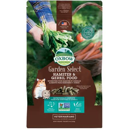 Oxbow Garden Select Hamster and Gerbil Food - 1.5lb
