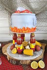 Crawfish Boil Decorating Ideas by Crawfish Boil Cake Mike Will Love This Good Idea Pinterest