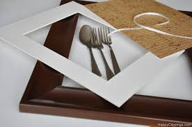 New Ideas Diy Dining Room Wall Art Let Me Show You How To Make This Framed Silver