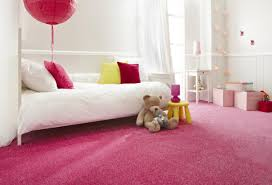 Best Choices Color Schemes For Girls Bedrooms Terrific Pink Carpet Flooring And White Wall Painting