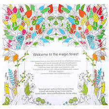 Aliexpress Buy 24 Pages Enchanted Forest Secret Garden Series Antistress Adult Coloring Books For Adults Iibros Livre Cloriage Kids Art Book From