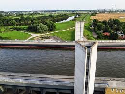 100 Magdeburg Water Bridge Kite Above The Pictures And Video T