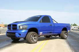 100 Blue Dodge Truck Resurrected 2006 2500 Race