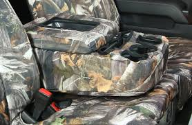 Saddleman Neoprene Camo Seat Covers - Free Shipping