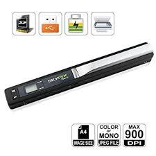 skypix mini scanner de poche haute resolution portable sans fil