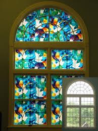 Artscape Decorative Window Film by Amazon Com Dove Stained Glass Decorative Privacy Window Film
