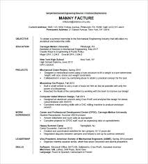 Samples For Engineering Students Pdf 614 Resume