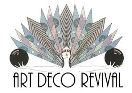 deco typography history deco revival deco style