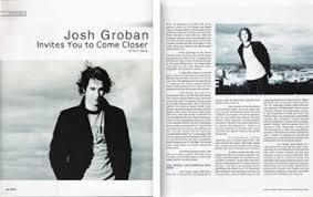 josh groban invites you to come closer carnivalife works