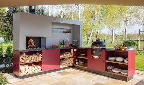 freiluftküche bilder der modularen outdoor küche design
