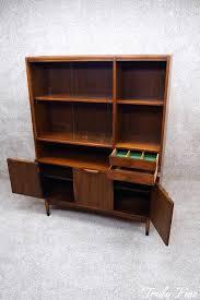 Kipp Stewart Styled Mid Century Modern China Curio Display Cabinet Bookcase