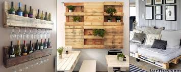 Cool Wood Pallet Furniture Ideas – LuvThat