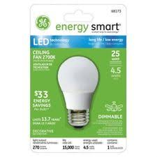 ge led 4 5w daylight ceiling fan light bulb a15 clear ebay