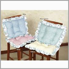 Dining Room Chair Pads And Cushions Admirable Indoor Square Seat Plaid Of