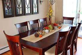Great Fall Dining Room Table Decorating Ideas With Glass Decor And Estate