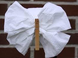 Origami Toilet Papar Butterfly
