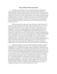 Sample Letter Intent Graduate School Engineering