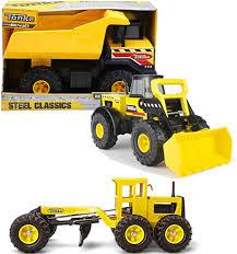 100 Steel Tonka Trucks Amazoncom Bundle Includes 3 Items Classic Mighty
