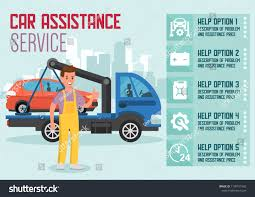 100 How To Start A Tow Truck Business Car Delivery Ssistance Service Car Transportation Stock Vector