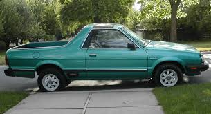 Subaru Brat : 1985 | Cartype Fun On Wheels The Subaru Brat Is Too To Exist Today Tt2 Sambar Truck Wr Blue Impreza Pickup With Added Turbo Takes On Bonkers File1989 Brumby Utility 20100519 02jpg Wikimedia Commons 1981 Brat Pickup Truck Item Dc3744 Sold November 1983 Gl For Sale Near Alsip Illinois 60803 Classics Rare 1969 360 Pickup Vintage Drive Inapicious Roots Motor Trend 2019 Tough Engine Capabilty Much Better 110 Offroad 2wd Kit By Tamiya