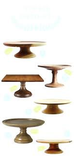 Wooden Cake Stands Cakes Rustic Nz