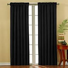 Absolute Zero Curtains Uk by Eclipse 10301042x084bk Suede 42 Inch By 84 Inch Thermaback