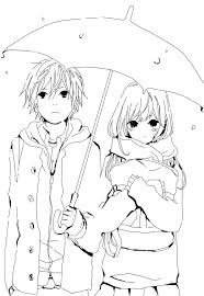 Downloads Online Coloring Page Anime Couple Pages 82 About Remodel Download With