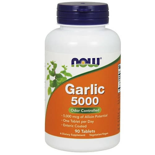 Now Foods Garlic 5000 Tablets - 90 Pack