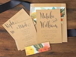 Mint Floral Wedding Invitation