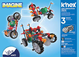 100 Demolition Truck Amazoncom KNEX KNex Imagine 4WD Building Set