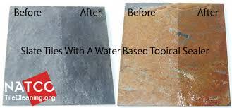 sealing slate tile floor best sealer for slate tiles