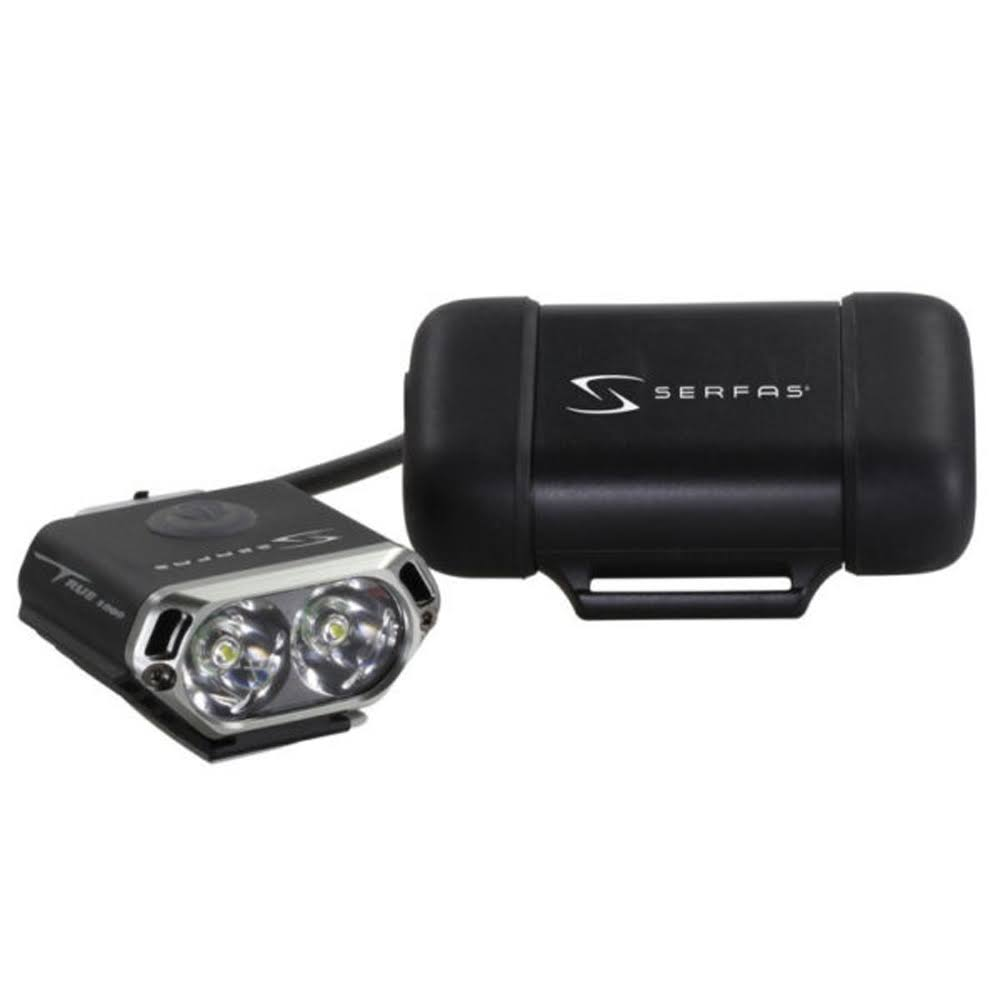 Serfas True 1000 Mini Headlight w/ Compact Battery Headlight